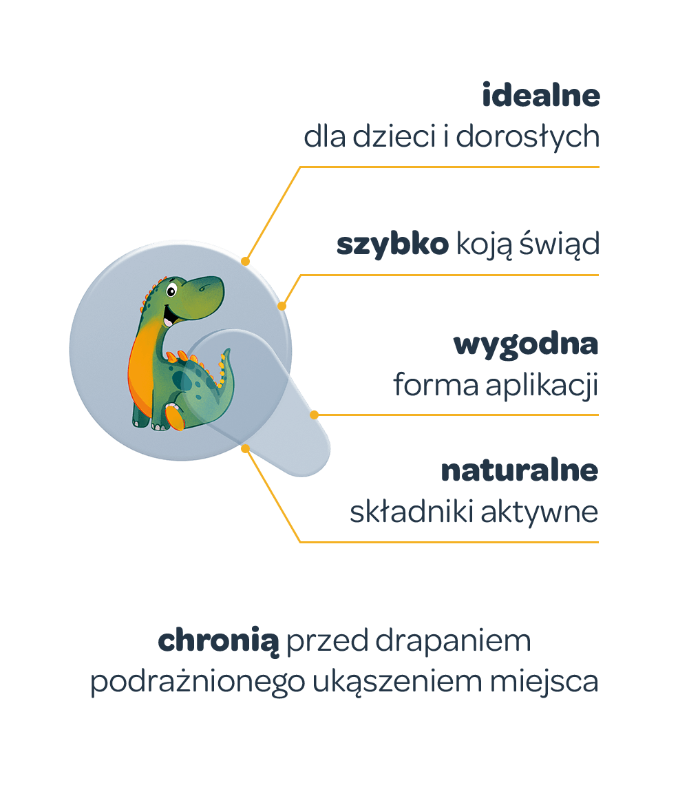 Korzyści plasterków Recotin - grafika w wersji mobilnej