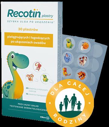 Recotin plastry - zdjęcie produktu
